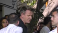 Gordon Ramsay outside Chateau Marmont Hotel in West Hollywood in Celebrity Sightings in Los Angeles