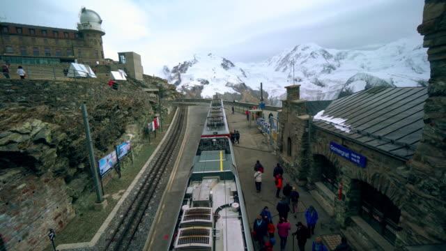 CNEUCIT1148 gornergrat train in the Switzerland