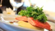 Gourmet Salmon Entree