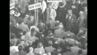 PA Gov John Fine argues with men on the speaker's podium at the Republican National Convention held at the International Amphitheatre in Chicago /...