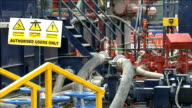 Goverment considering 'fracking without permission' proposals LIB / West Sussex Balcombe EXT GVs of Cuadrilla fracking site and drilling equipment