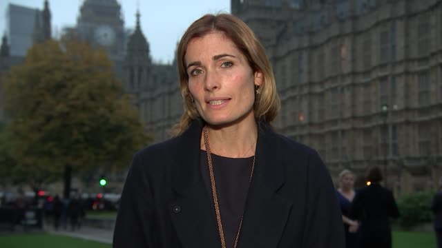 Government abstains on universal credit vote Westminster EXT Reporter to camera
