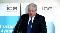 Government launches fightback on HS2 rail project London Insitute of Civil Engineers INT Patrick McLoughlin MP speech SOT The main reason we need HS2...