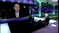 National Security strategy focuses on cyber attack threat ENGLAND London GIR INT William Hague MP LIVE 2WAY interview from Westminster SOT We say in...