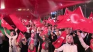 Government supporters stage a rally in Taksim Square in Istanbul as Turkey widens its massive post coup purge to schools and the media vowing to root...