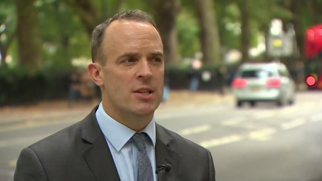 Government to introduce life sentences for those convicted of causing death by dangerous driving ENGLAND London Dominic Raab MP interview SOT