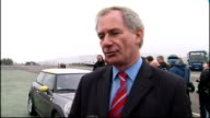 Government to offer incentives to encourage electric car sales Mandelson and Hoon statements Geoff Hoon MP interview SOT Talks of steps to be brought...