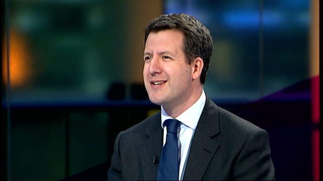 Government to review banks system for setting interest rates ENGLAND London GIR INT Chris Leslie MP interview SOT All government struggling to play...