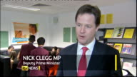 Government Uturn on work experience scheme ENGLAND INT Nick Clegg MP interview SOT All the critics who are constantly slamming this program they have...