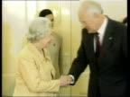 Governor General Peter Hollingworth resigns LIB Queen Elizabeth II along as greeted by Hollingworth