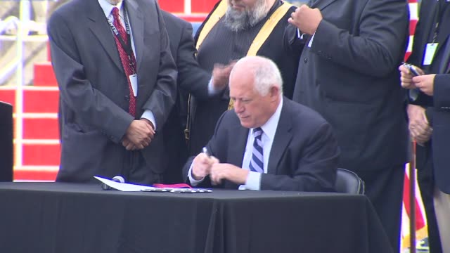 Governor Patt Quinn joined thousands celebrating the end of Ramadan to sign a bill to allow for greater religious exceptions at Illinois Universities...