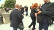 BROLL Grace Coddington Andre Leon Talley at Pa on July 01 2013 in Paris France