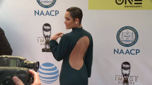 Grace Gealey at 48th NAACP Image Awards at Pasadena Civic Auditorium on February 11 2017 in Pasadena California