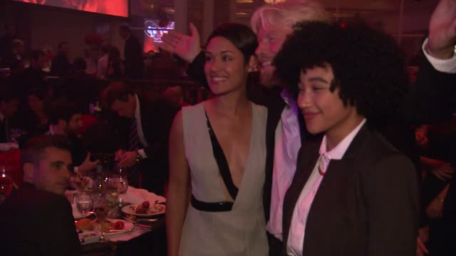 Grace Gealey Richard Branson Amandla Stenberg at AltaMed Power Up We Are The Future Gala in Los Angeles CA