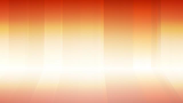 Gradient Curtains Background Loop Orange