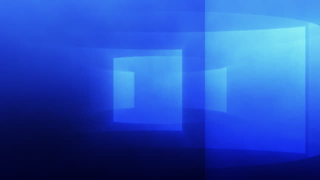 Gradient Turbine Background Loop Blue