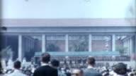 Abschlussfeier 1950 er