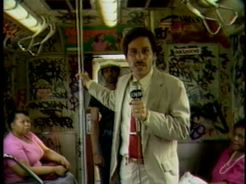 Graffiti in New York City in the 1980s Reporter Alec Roberts gets some perspective from New Yorkers on both sides of the vandalism problem sweeping...