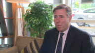 Graham Brady chair of the 1922 Committee saying the Conservative party are happy for Theresa May 'to get on with the job'