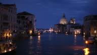 WS Grand Canal at night / Venice, Italy