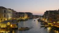 Grand Canal Venice at Dusk