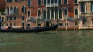 WS SIDE POV Grand canal, Venice, Veneto, Italy