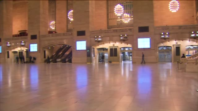Grand Central Station Empty on October 29 2012 in New York New York