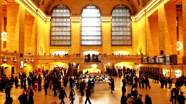 HD VDO :Grand Central Station, New York City