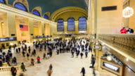 TIME LAPSE, Grand Central Station, New York City