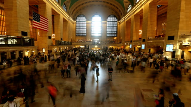 Grand Central Station Time Lapse