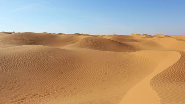 Grand Erg Oriental in the Sahara desert of Tunisia