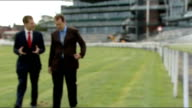 Grand National fences to be made safer General view of Aintree Racecourse **Thick interview overlaid SOT** Julian Thick and reporter along Julian...