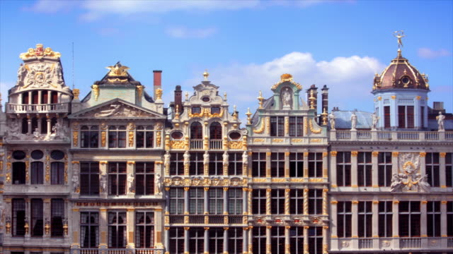 Grand Place Buildings Brussels, Belgium