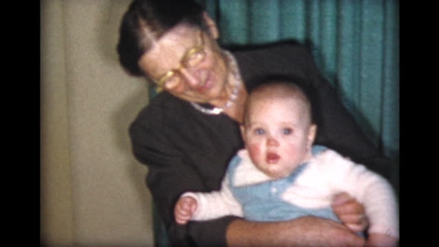 1957 grandma and baby girl