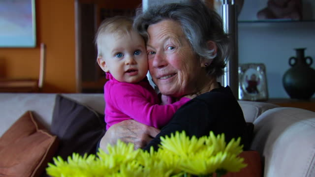 Grandmother and Granddaughter 1