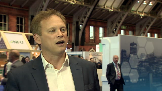 Grant Shapps saying Theresa May will be 'vulnerable' if she fails to deliver during her speech at the Conservative Party conference after the...