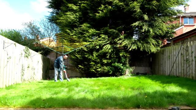 grass cutting in time laspe