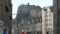 MS, Grassmarket and Edinburgh Castle, Edinburgh, Scotland, United Kingdom