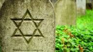 Grave stone with Star of David