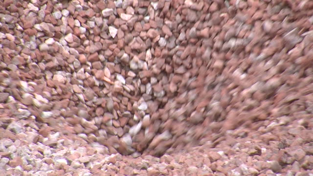 CU Gravel being loaded / Taben-Rodt, Rhineland-Palatinate, Germany