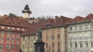 Graz - Archduke Johann statue in Graz