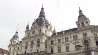 Graz - The towers of the Town Hall of Graz