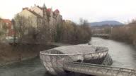 Graz - Unique bridge in Graz