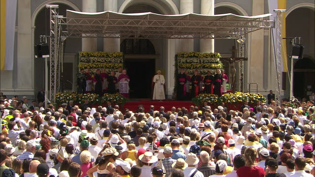 Great celebration, pope in south tyrol 2008