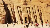 T/L, MS, Great Temple at Abu Simbel, Nubia, Egypt