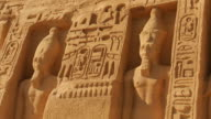 T/L, ZO, MS, Great Temple at Abu Simbel, Nubia, Egypt
