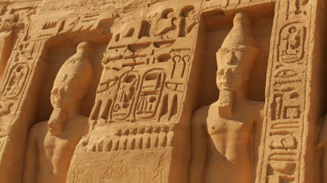 T/L, ZO, MS, Great Temple at Abu Simbel, Nubia, Egypt