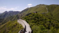 W/S, Great Wall of China, Mutianyu, mountains, woods, chinese characters, Beijing, China