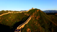 Great Wall of China time lapse