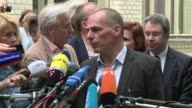 Greeces finance minister said on Monday it was time the finger pointing in debt talks with its EU IMF creditors stopped and that both sides come to...